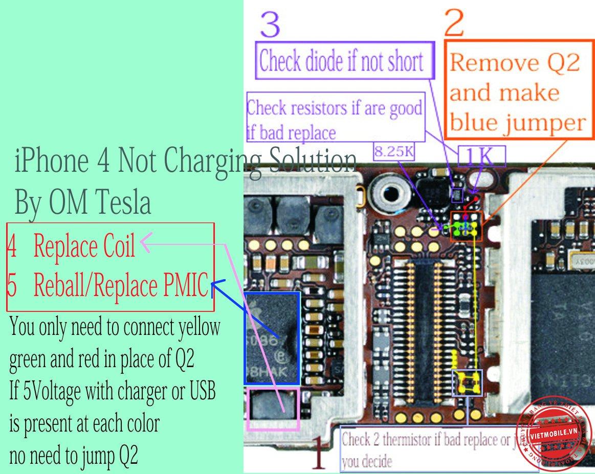 iPhone 4 Not Charging Solution!.