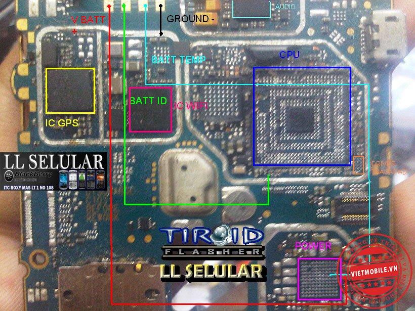 JALUR BATT ID DAN BATT TEMP ONYX 9700-9780.