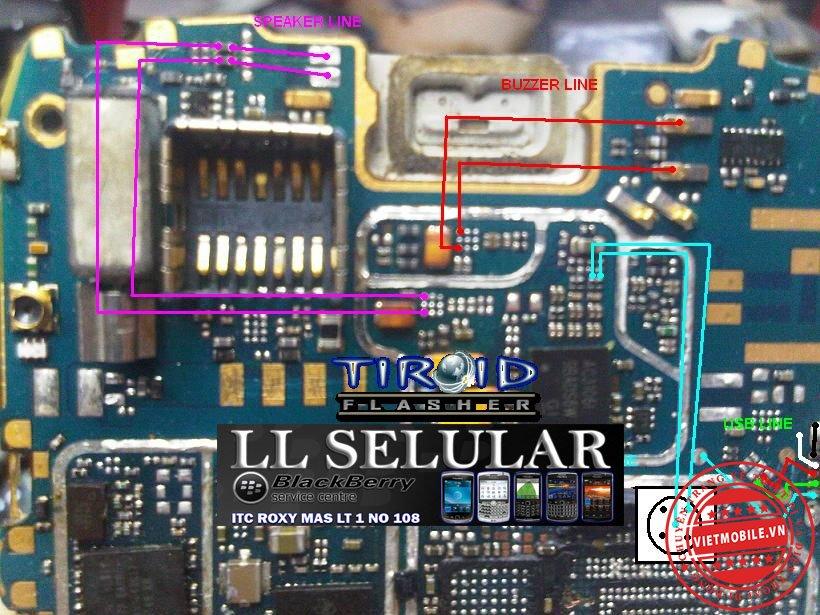 JALUR USB+SPEAKER+BUZZER +IC ONYX 9700-9780.