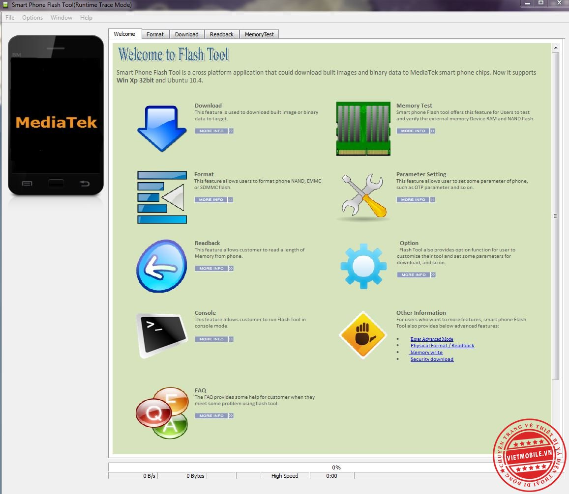 SP Flash Tool v 3.1352.01.