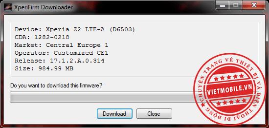 Xperia Firmware Downloader & Checker_4.